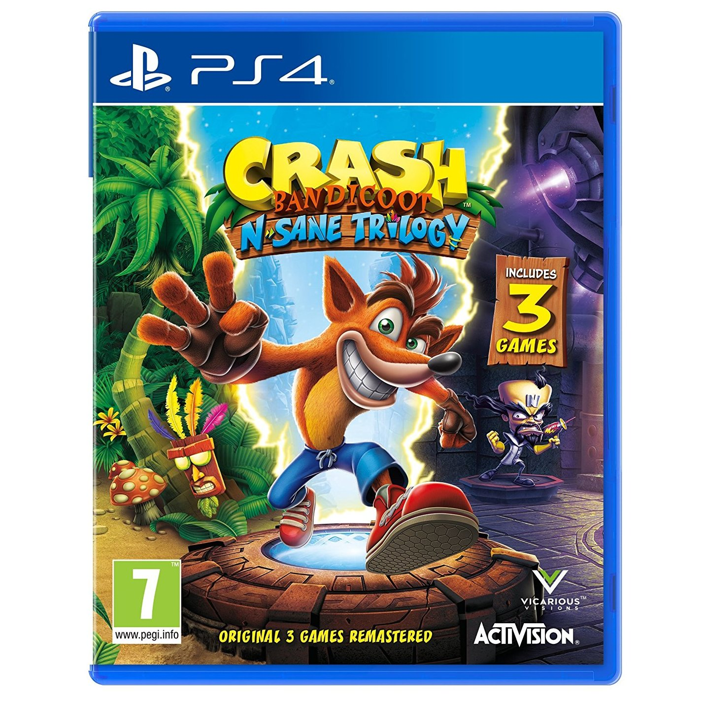 Ps4 Uncharted The Lost Legacy Game Price In Oman Sale On Ps4uncharted Reg 3 Crash Bandicoot N Sane Trilogy