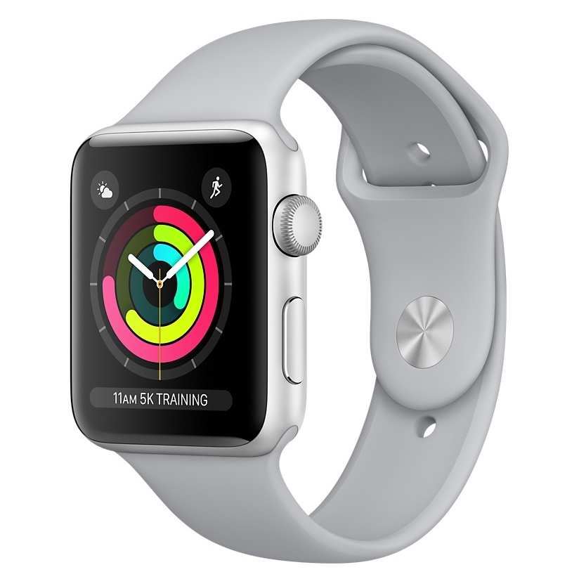 reputable site 45912 4f71f Apple Watch Nike+ Series 3 GPS – 38mm Space Grey Aluminium Case with ...