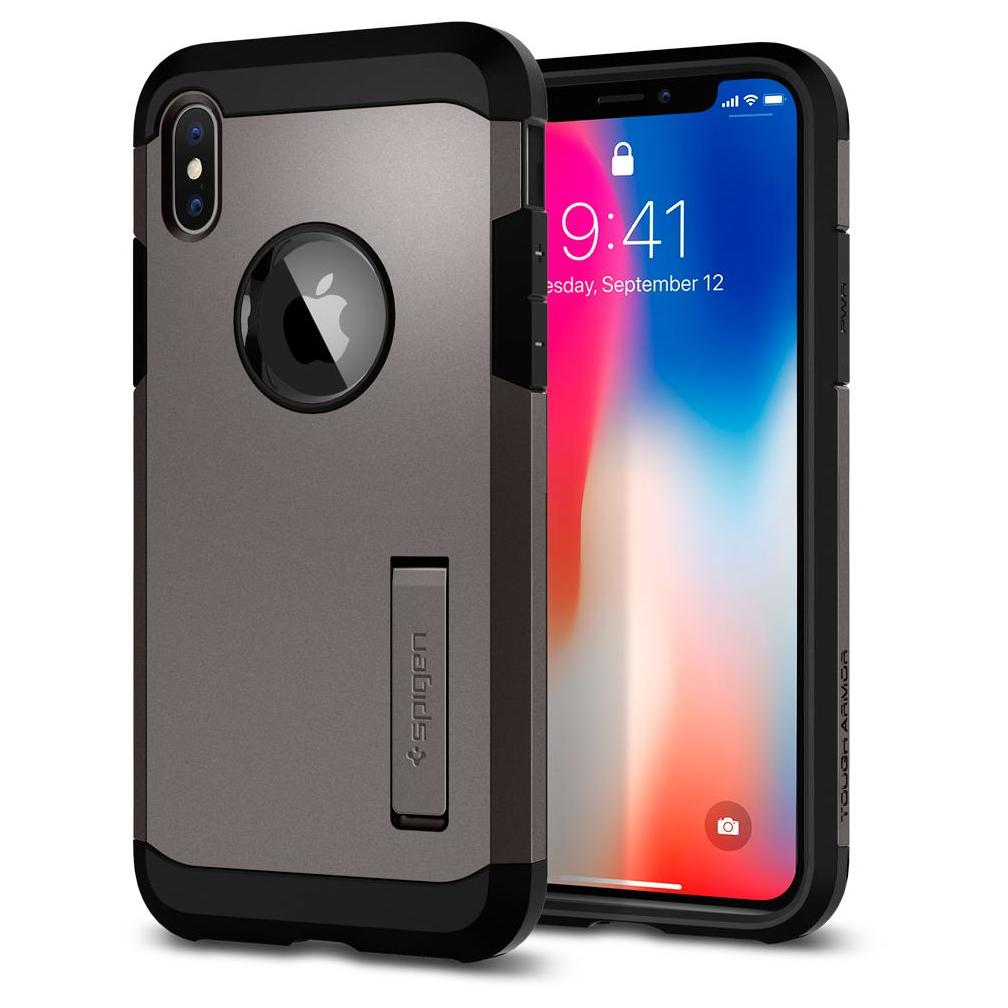 buy popular 0adf9 23527 Spigen Tough Armor Case Black For iPhone XR price in Oman | Sale on ...